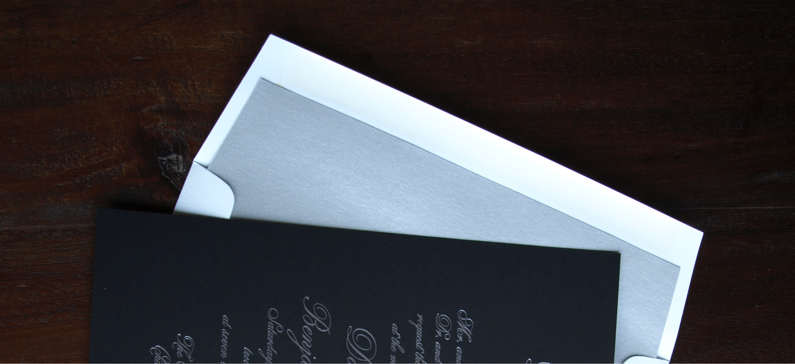 erickson design envelope liner silver