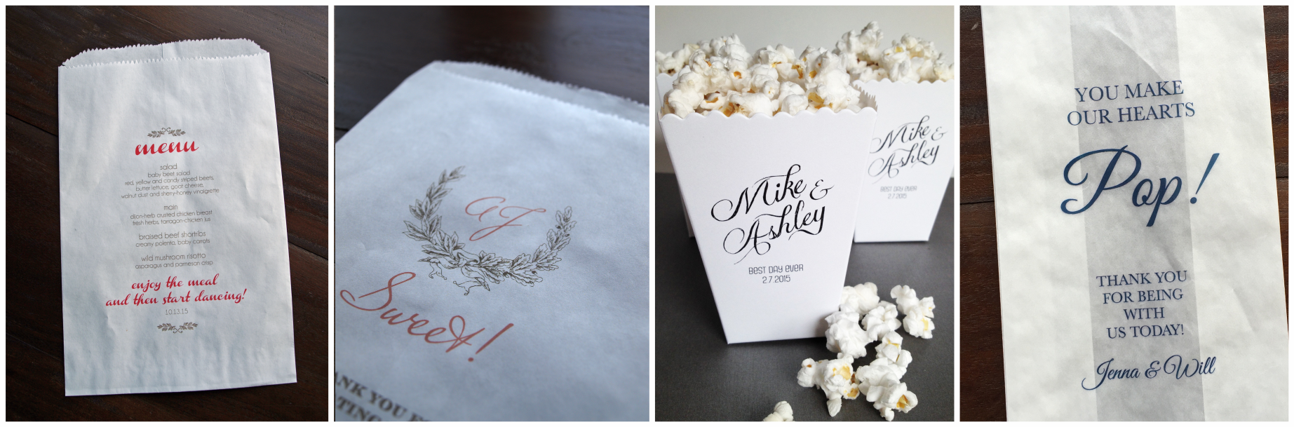 erickson design popcorn and sweets bags